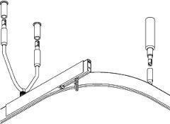Porterhouse anti-ligature rails