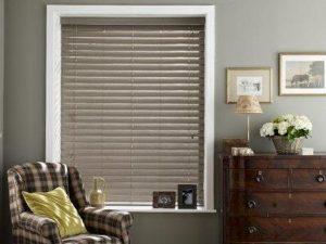Porterhouse faux wood blinds